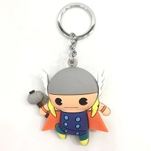 Thor doll key chain