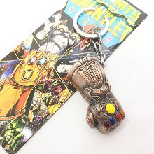 The Avengers Thanos movie key chain