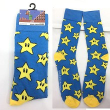 Super Mario cotton socks a pair