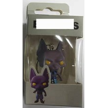 Funko POP Dragon Ball Beerus anime figure doll key...