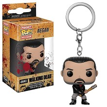 Funko POP The Walking Dead Negan figure doll key chain