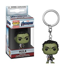 Funko POP The Avengers Hulk figure doll key chain