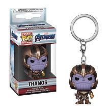Funko POP The Avengers Thanos figure doll key chai...