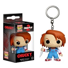 Funko POP Childs Play Chucky figure doll key chain