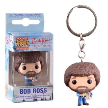 Funko POP bob ross figure doll key chain