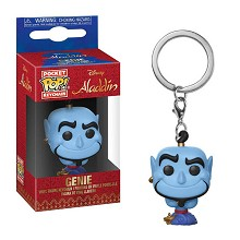 Funko POP Alladin Genie figure doll key chain