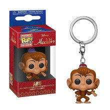 Funko POP Alladin Abu figure doll key chain
