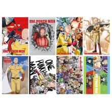 One Punch Man anime posters(8pcs a set)