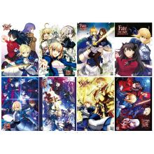 Fate stay night posters(8pcs a set)