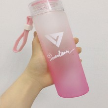 Seventeen star color glass cup