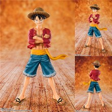 F.zero One Piece Luffy anime figure
