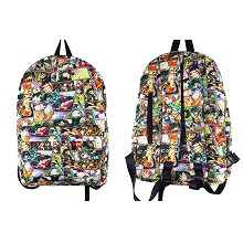 My Hero Academia anime backpack bag