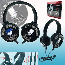 Detective conan anime headphone