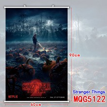 Stranger Things wall scroll