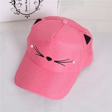 The cute Cat ears cap sun hat