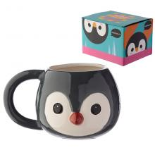 Animal penguin ceramic cup