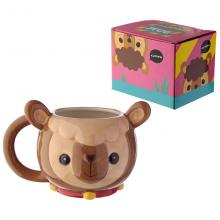 Animal bear ceramic cup