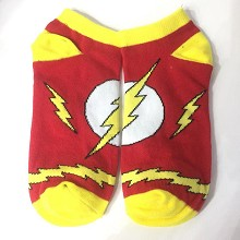 The Flash cotton short socks a pair