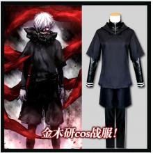 Tokyo ghoul anime cosplay cloth a set