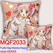 Puella Magi Madoka Magica anime two-sided pillow