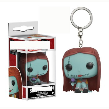 Funko POP The Nightmare Before Christmas figure doll key chain