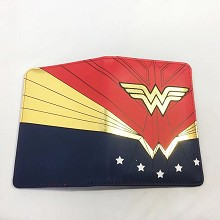 Wonder Woman Passport Cover Card Case Credit Card ...