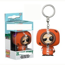 Funko POP south park anime figure doll key chain