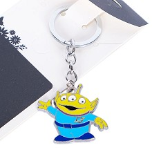 Toy Story Alien anime key chain