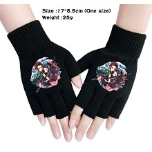 Demon Slayer anime cotton gloves a pair