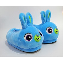 12inches Blue Bird plush shoes slippers a pair
