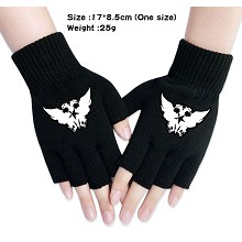 Arknights anime cotton gloves a pair