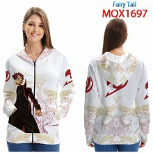 Fairy Tail anime long sleeve hoodie cloth