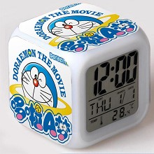 Doraemon anime discolor clock(no battery)