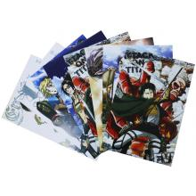 Attack on Titan anime posters(8pcs a set)