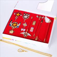 Card Captor Sakura anime key chains a set