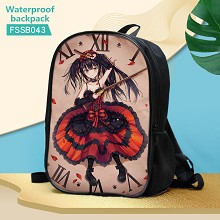 Date A Live anime waterproof backpack bag