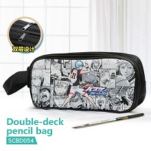 Kuroko No Basketball anime double deck pencil bag ...