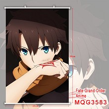 Fate anime wall scroll