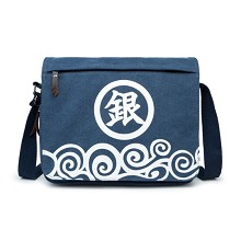 Gintama anime canvas satchel shoulder bag