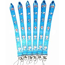 Doraemon neck strap Lanyards for keys ID card gym ...