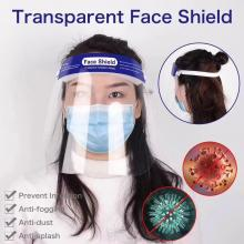 Anti-fog anti-saliva face shield mask