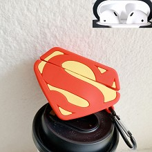Super Man Airpods 1/2 shockproof silicone cover pr...