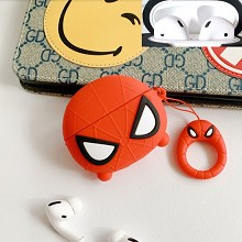 Spider Man Airpods 1/2 shockproof silicone cover p...