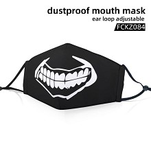 Tokyo ghoul anime dustproof mouth mask trendy mask
