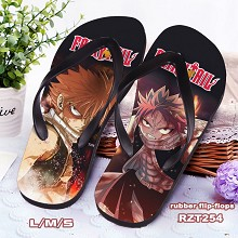 Fairy Tail anime flip-flops shoes slippers a pair
