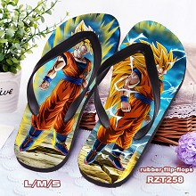 Dragon Ball anime flip-flops shoes slippers a pair