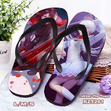 RWBY anime flip-flops shoes slippers a pair
