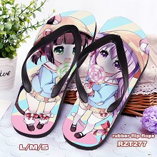Azur Lane game flip-flops shoes slippers a pair