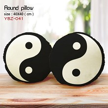 Taiji bagua two-sided pillow