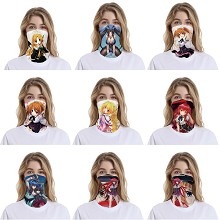 High School D×D anime headgear stocking mask magic scarf neck face mask